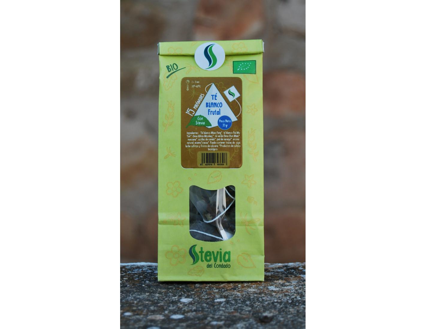 Pack de 3 Tés o Infusiones con Stevia BIO