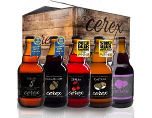 Pack 20 cervezas artesanales Cerex 33 cl.