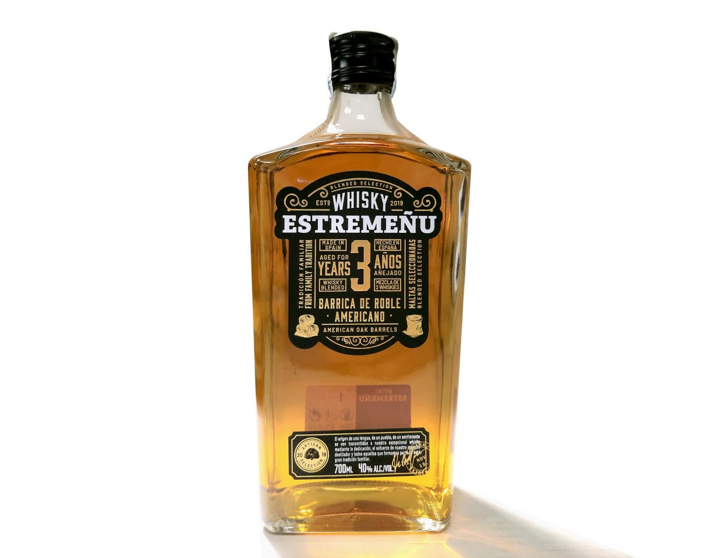 Whisky Estremeñu 700 ml Blended Selección Superior 36 meses