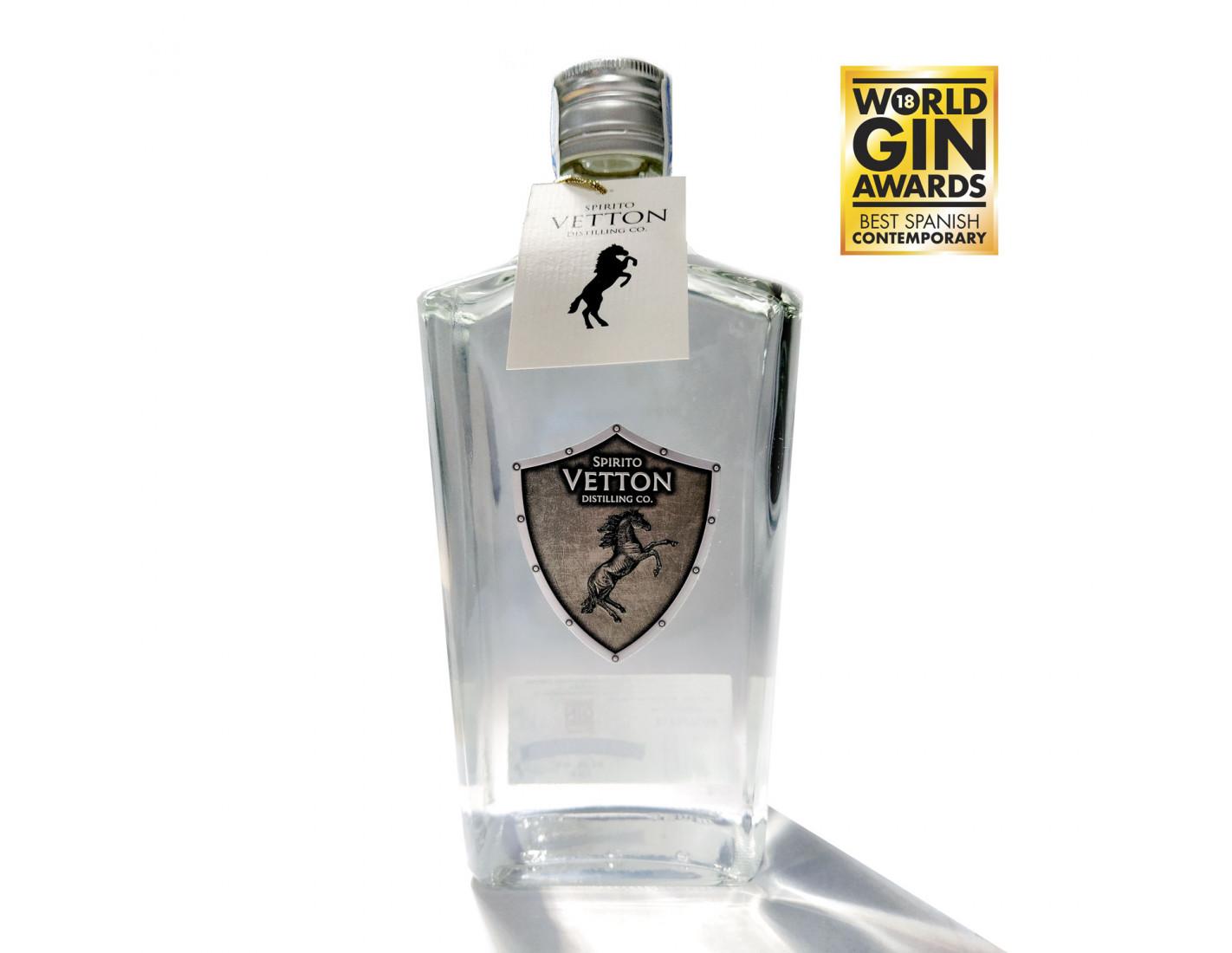 """Spirito Vetton Extra Dry 700 ml Premio Mejor Ginebra de España """"World Gin Awards 2018"""""""