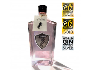 "Spirito Vetton Cereza 700 ml Premio Mejor Ginebra de España ""World Gin Awards 2019"""