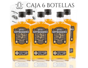Pack 6 botellas Whisky Estremeñu 700 ml Blended Selección Superior 36 meses